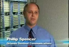 What kind of telecom savings and telecom refunds did Auditel find for Orlando Sentinel? 2