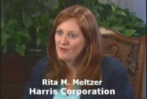 Did Auditel telecom training surprise Rita Meltzer of Harris Corporation Clip6
