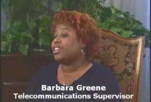 Auditel telecom training student Barbara Greene interview Clip5
