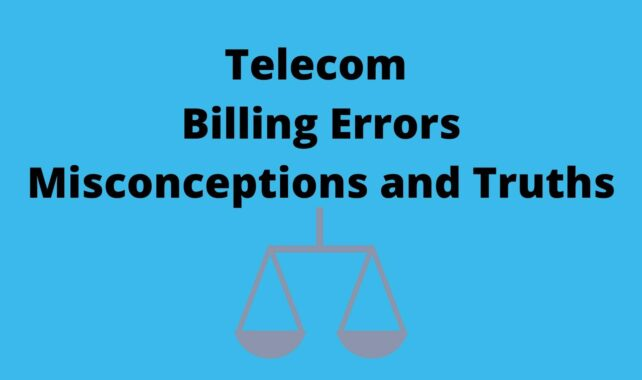 Telecom Billing Error Misconceptions